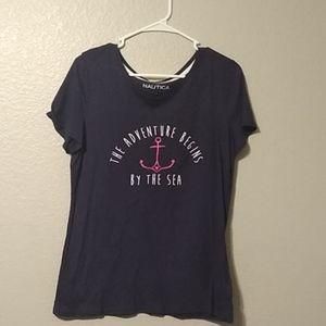 Navy Blue to shirt